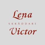 logga för skräddare Lena Victor